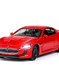 cheap -1:32 Toy Car Music Vehicles Car F1 car Race Car SUV Office Desk Toys Simulation Exquisite Zinc Alloy Rubber Boys' Girls' / Kids