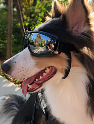 cheap -Dog Sunglasses Sports Glasses Pet Door Waterproof Goggles Swimming Goggles Cool everyday Plastic Black 1 Piece