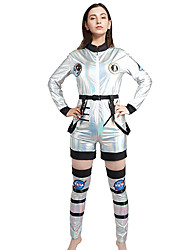 cheap -Astronaut Adults' Women's Outfits For Terylene Masquerade Catsuit