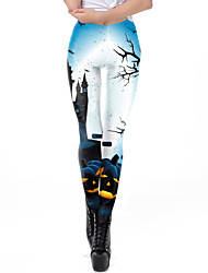 Недорогие -Брюки Косплэй костюмы Боди Хэллоуин Жен. Белый Halloween Хэллоуин