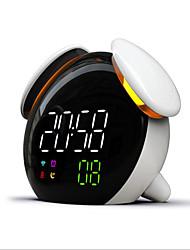 Недорогие -светодиодный будильник с голосовой трансляцией интеллектуальная индукция smart time night light app control новый дизайн сенсорный смарт-переключатель usb спальня прикроватная лампа