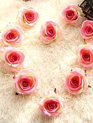 Недорогие -5шт бархат роза голова цветок стены украшения дома свадьба поддельные цветок