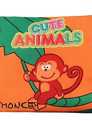 cheap -1pcs Toddler Unisex Basic Animal / Cartoon Mask Orange / Blue / Red
