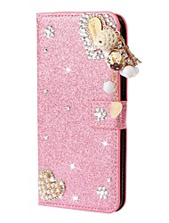 cheap -Case For Samsung Galaxy A51 A31 A71 Wallet / Card Holder / with Stand Glitter Shine Love Tassel PU Leather Case For Samsung A70E A41 A11 A21 A91 A81 A20e A10e A50s A30s A70s A20 M20 M10 A750 Note 20 U