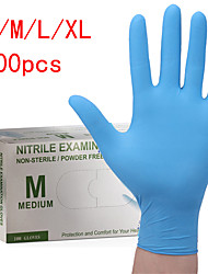 cheap -100PCS Disposable Latex Gloves Rubber Gloves Cleaning Gloves Work Gloves