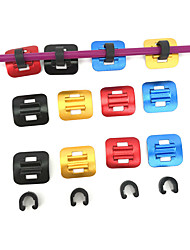 cheap -Bike C Clips For Road Bike / Mountain Bike MTB / Fixed Gear Bike Plastic / Aluminium alloy Adjustable / Adjustable / Retractable / High Strength Cycling Bicycle Black Red Gold
