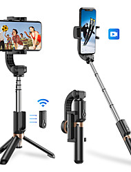 cheap -APEXEL Mobile Phone Stabilizer Anti-shake Handheld Gimbal Selfie Stick Bluetooth Extendable Selfie Stick Tripod with Wireless Remote Selfie Stick for iPhone 11 Pro Max/11 Pro/11/XS/XS Max/XR/X