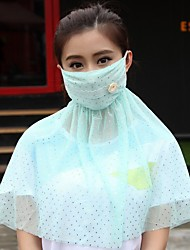cheap -Personal Protective Equipment Face Mask Dust Proof Durable Protection Antivirus Convenient Polyester High Quality Yellow Pink Orange Green