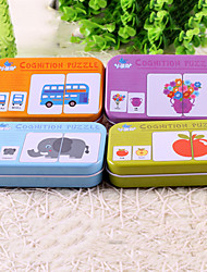 cheap -Reading Toy Puzzle Cognitive Card Cute Talk Prop Parent-Child Interaction Wooden High Quality 1 pcs Baby All Toy Gift