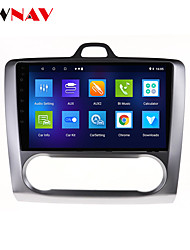 cheap -ZWNAV 9 inch 1DIN 1GB 16GB Android 10.0 Car GPS Navigation Car Stereo Player Car MP5 Player Car Multimedia Player DSP CarPlay For Ford Focus 2004-2011