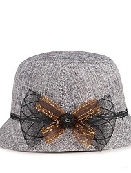 cheap -Plain Plaids Hats with Solid 1 Piece Casual / Daily Wear Headpiece