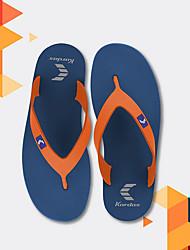 cheap -Men's PVC Spring & Summer Casual Slippers & Flip-Flops Breathable Color Block Red / Orange / Blue