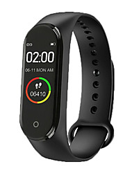 cheap -M4 Unisex Smart Wristbands Bluetooth Heart Rate Monitor Blood Pressure Measurement Sports Calories Burned Thermometer Pedometer Call Reminder Sleep Tracker Sedentary Reminder Find My Device