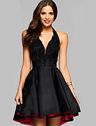 cheap -Women's A Line Dress - Solid Color Black S M L XL