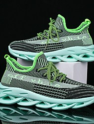 cheap -Men's Tissage Volant Spring & Summer Casual Athletic Shoes Running Shoes / Walking Shoes Breathable Black / Green / Gray