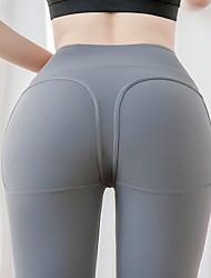 cheap -Women's Sporty Sweatpants Pants - Solid Colored Red Blue Black S M L