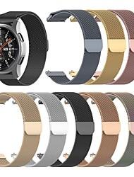 cheap -Watch Band for Garmin Vivoactive 4 /  Vivoactive 4S 3S  Garmin Milanese Loop Stainless Steel Wrist Strap