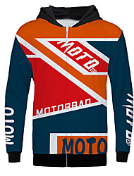 cheap -Moto warm sweater off-road motorcycle Long Sleeves Polyster Warmer / Breathable / fast dry fleece Jersey sweater Motorcycle downhill clothing outdoor sports casual jacket