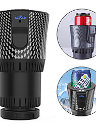 cheap -Smart Car Cup Cooler and Warmer Camping Cup Fruit Juicer Bottle 0.5 L Single Portable Durable for 1 person Plastics Alloy Outdoor Camping / Hiking Outdoor Picnic Black