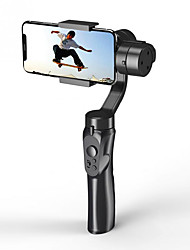 cheap -Outdoor Holder 3-Axis Flexible H4 Handheld Gimbal Stabilizer for iPhone 11 9 8 Huawei Samsung Smart Phone PTZ Action Camera