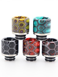 cheap -YUHETEC 510 Resin Stainless Steel Snake Skin Drip Tip with Screen Prevent  Frying Oil for ijust S/TFV8 baby/ Stick M17/MELO 4 D25 Mini/Ammit 25/Creed RTA Atomizer 1PC