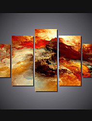 cheap -5 Panels Modern Canvas Prints Painting Home Decor Artwork Pictures DecorPrint Rolled Stretched Modern Art Prints Abstract Landscape