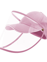 cheap -Cotton Protective Baseball Cap-Pink