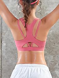 cheap -Activewear Top Split Joint Women's Training Performance Elastane