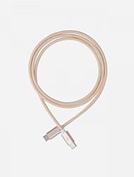Недорогие -Micro USB Кабель 3 A 1.0m (3FT) Плетение Алюминий / Углеродное волокно Адаптер USB-кабеля Назначение Macbook / Huawei