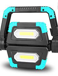 Недорогие -Походные светильники и лампы Светодиодная лампа LED излучатели с USB кабелем Портативные Складной Прочный Походы / туризм / спелеология Повседневное использование Велосипедный спорт Оранжевый Синий