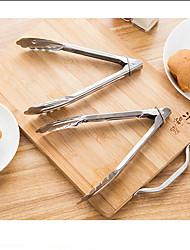 Недорогие -Кулинарные щипцы пищевые зажимы тесто в панировке куриные крылышки гаджеты хлеб салат мясной зажим анти-жаркое барбекю шведский стол щипцы из нержавеющей стали кухонные инструменты
