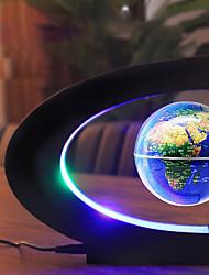 cheap -Magnetic Levitation Floating World Map Globe with C Shape Base Levitation Globe with LED Light for Kids Home Office 100-240V(US Plug EU Plug)