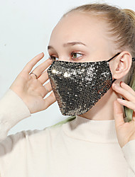 cheap -Personal Protective Equipment Face Mask Dust Proof Durable Protection Antivirus PM2.5 Protection Cotton High Quality Yellow Black