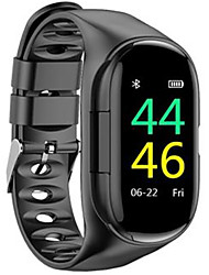 cheap -m1 Unisex Smartwatch Bluetooth Heart Rate Monitor Blood Pressure Measurement Sports Long Standby Exercise Record Timer Stopwatch Pedometer Call Reminder Sleep Tracker
