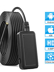 cheap -5.5mm 1920P Inspection Camera 5.0MP Wireless Borescope WiFi Snake Camera with 6 LED for iPhone Samsung Android Tablet