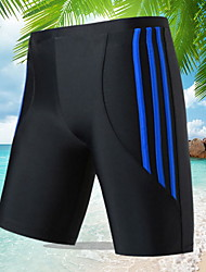 cheap -Men's Blue Red Gray Bottoms Swimwear Swimsuit - Striped One-Size Blue