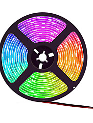 cheap -5m Flexible LED Light Strips Flexible Tiktok Lights 300 LEDs SMD5050 10mm TV Background Light 1 set Warm White White Red Cuttable Decorative Self-adhesive 12 V