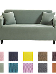 cheap -Sofa Cover Couch Cover Furniture Protector Solid Color Soft Stretch Sofa Slipcover Super Strechable Cover Fit for Armchair/ Loveseat/ Three Seater/ Four Seater/ L Shape Sofa Easy to Install & Care  (F