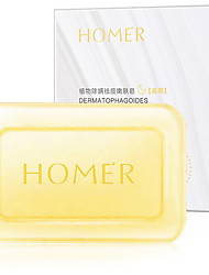 cheap -Hanmei muscle sulfur sea salt anti-acne and mite soap Refreshing Green Tea Soap Sweet Honey Whitening Soap