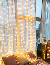 cheap -10m LED String Lights 300 LEDs RGB+White for Room Bedroom Home Decoration Valentine's Day Christmas Creative