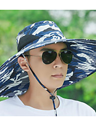 cheap -Unisex Basic Polyester Sun Hat-Floral Army Green Navy Blue Gray