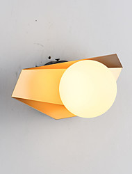 cheap -QIHengZhaoMing Wall Lamps & Sconces Bedroom / Kids Room Metal Wall Light 110-120V / 220-240V 5 W