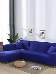 Недорогие -нордический простой однотонный эластичный чехол для дивана одноместный двойной трехместный диван