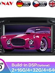 Недорогие -zwnav 7inch 2din android 9 dsp автомобильный mp5-плеер автомобильный DVD-плеер GPS-навигатор автомобильный мультимедийный плеер авто магнитола для Mercedes Benz w203 / w209 / w463 / w168
