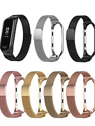 cheap -Watch Band for Mi Band 3 / Xiaomi Band 4 Xiaomi Sport Band Microfiber Wrist Strap