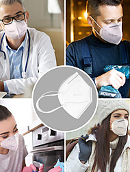 cheap -10 Pcs KN95 CE FFP2 Mask / Breathing Mask Mask Disposable / Protective Street /  Office & Career Masks