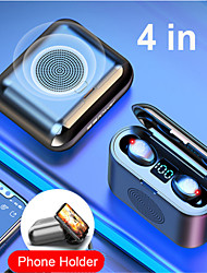 cheap -New True Wireless Bluetooth Earphone and Speaker 2 in 1 HD Stereo Wireless Headphones Mini Earbuds Bass Headset with 2000mAh Bin