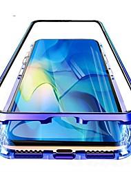 Недорогие -магнитный чехол для samsung galaxy a51 / m40s / a71 ударопрочный / водостойкий / прозрачное закаленное стекло / металлический корпус для samsung galaxy a10s / a20s / note 10 plus / s10 plus / a30 /