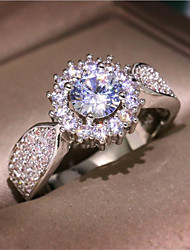 cheap -Band Ring Classic Silver Copper Gold Plated Imitation Diamond Star Stylish 1pc 6 7 8 9 10 / Women's