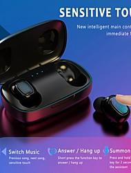 Недорогие -LITBest T10-TWS TWS True Беспроводные наушники Беспроводное Bluetooth 5.0 Стерео С микрофоном С зарядным устройством Водонепроницаемый IPX4 Sweatproof Спорт и фитнес